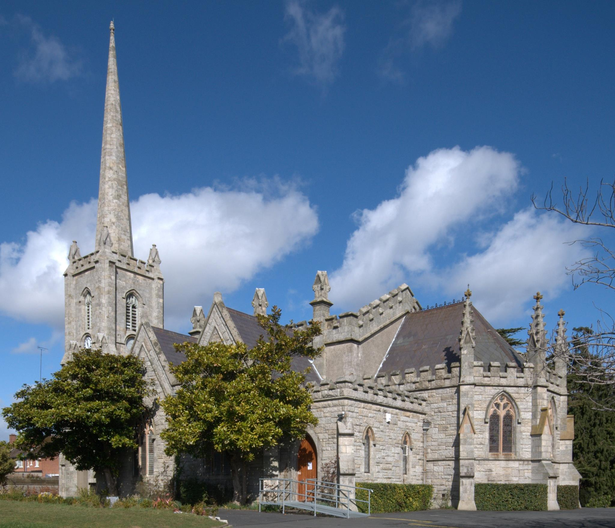 The Church of St Philip and St James, Booterstown